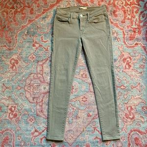 ✌︎Levi's✌︎ 710 Skinny Jeans in Olive Green (27)